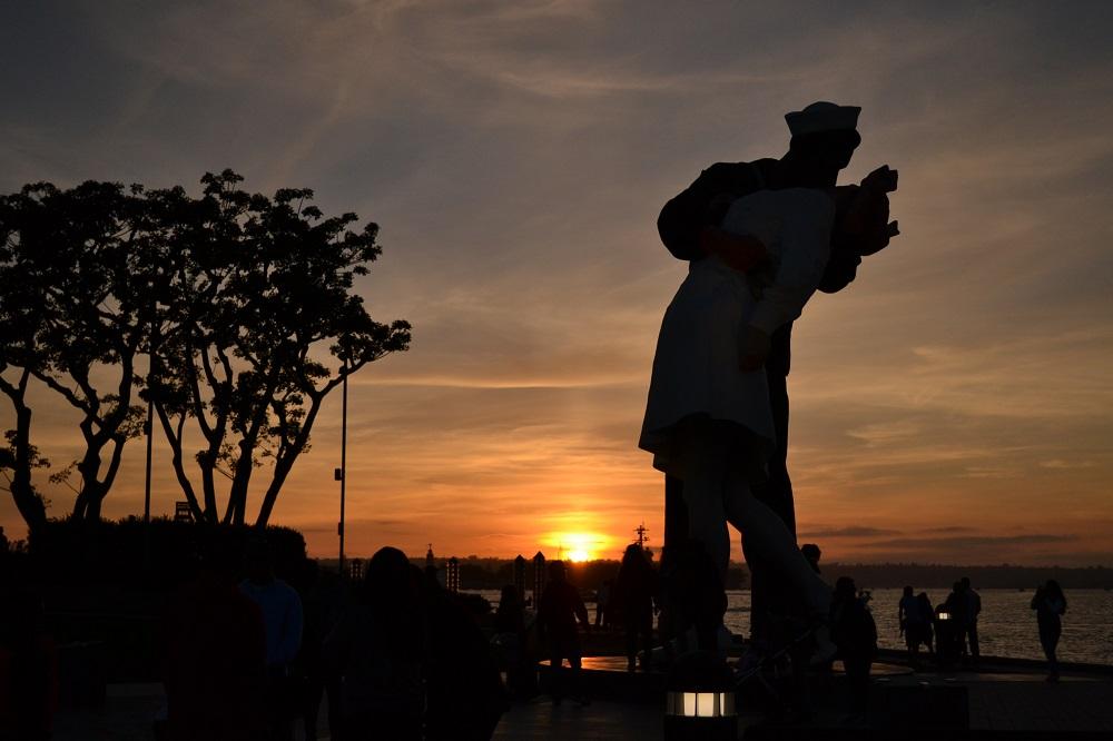 サンディエゴの夕日の写真