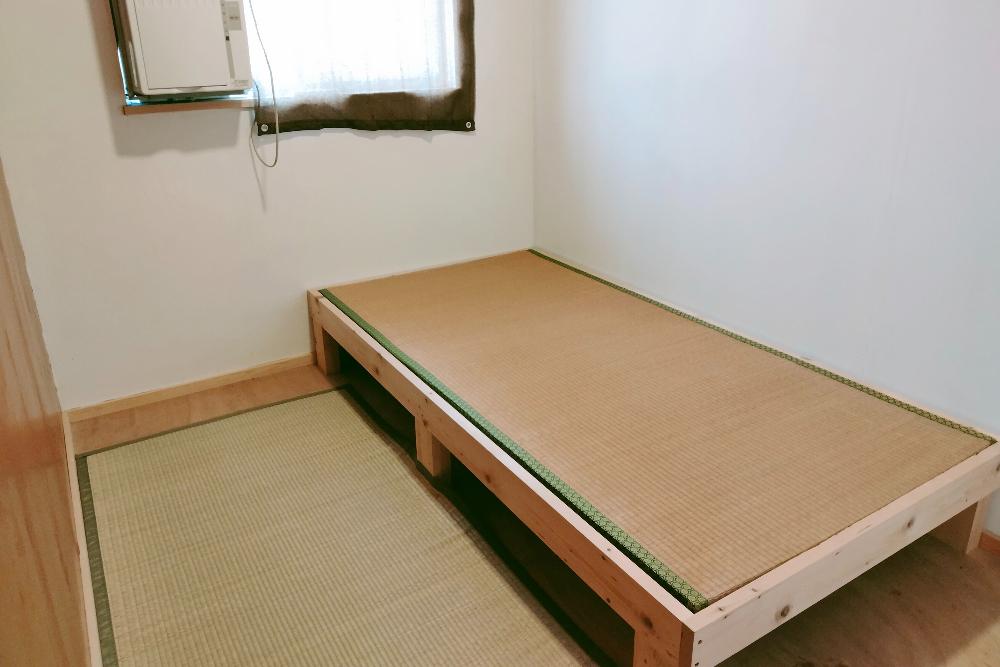 京都和束町・宇治茶収穫アルバイト(ツナギバシェアハウスの個室)の写真