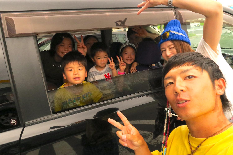 自転車日本一周:青森で出会った人の写真