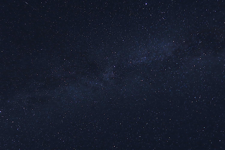 北海道初山別村みさき台公園無料キャンプ場(星空)の写真