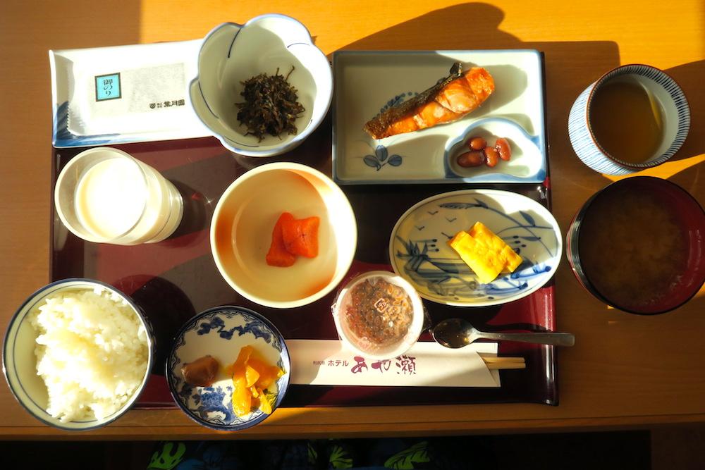利尻島ホテルあや瀬の朝食の写真