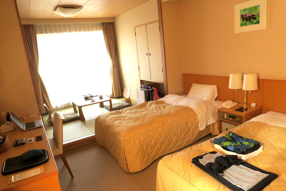 利尻島ホテル個室の写真