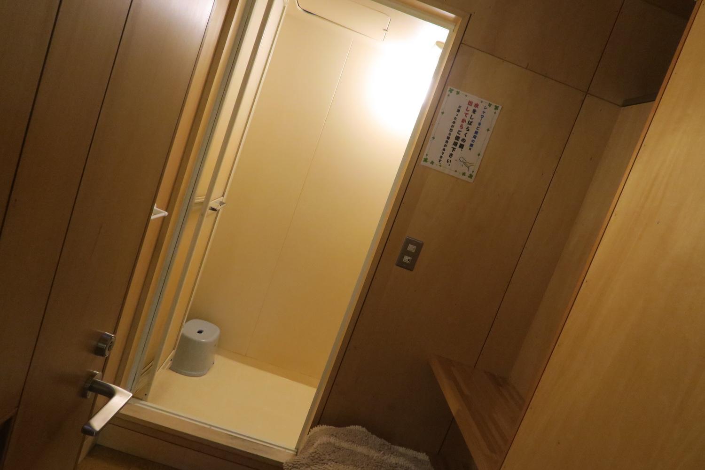 北海道稚内宗谷ふれあい公園キャンプ場(シャワー)の写真