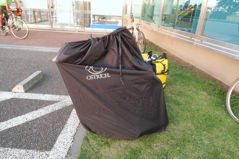 自転車日本一周輪行バッグの写真