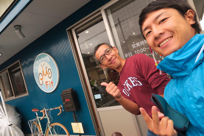 愛知県豊川市の自転車屋Fitの店長の写真