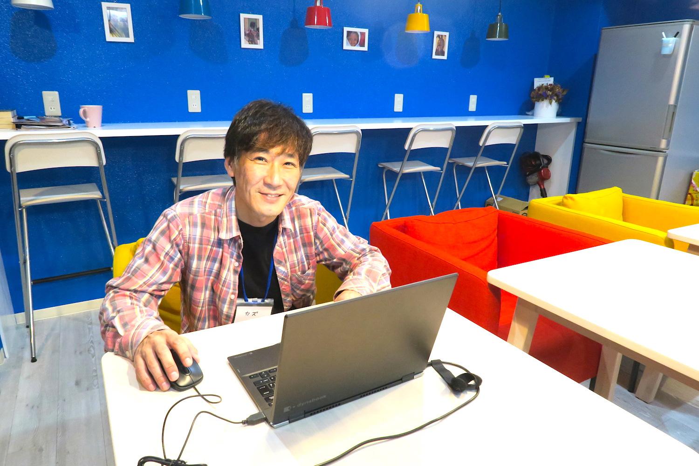 神戸Hostel Anchorageオーナーカズさんの写真