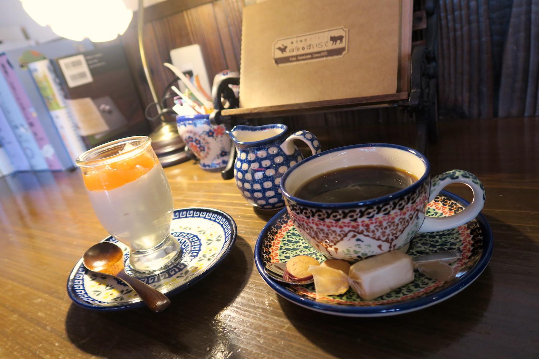 神戸の自家焙煎カフェ「すいらて」のデザートの写真