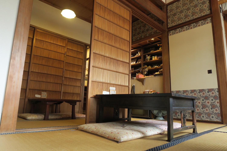 神戸の自家焙煎カフェ「すいらて」の二階席2の写真