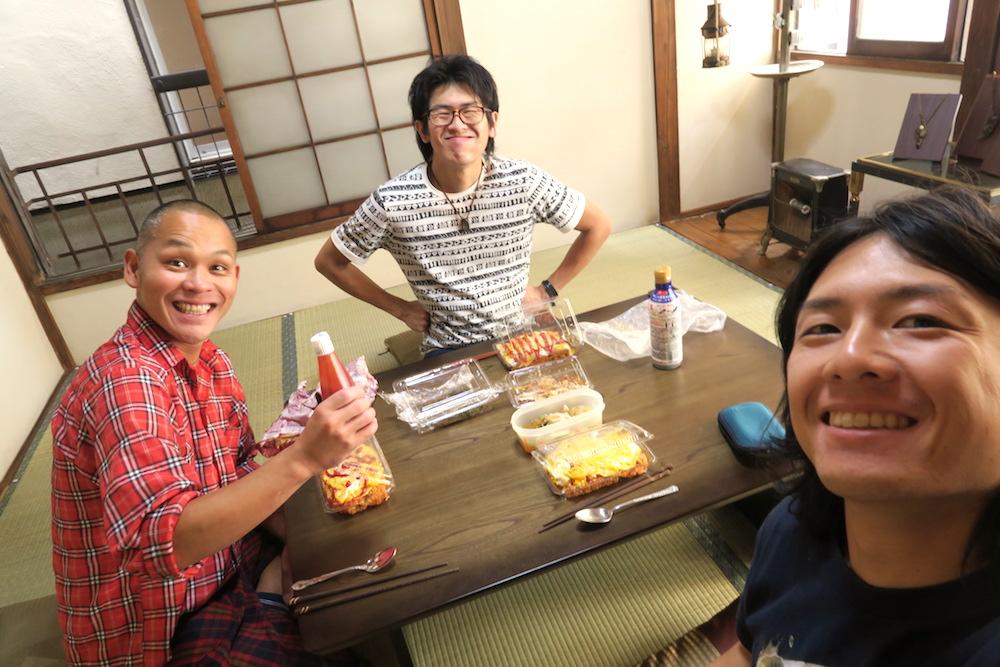 東京巣鴨カフェ竜ちゃんで昼食の写真