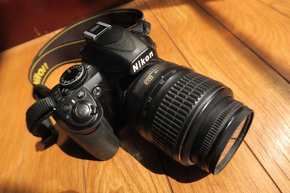 一眼レフカメラ(Nikon:D3100)の写真