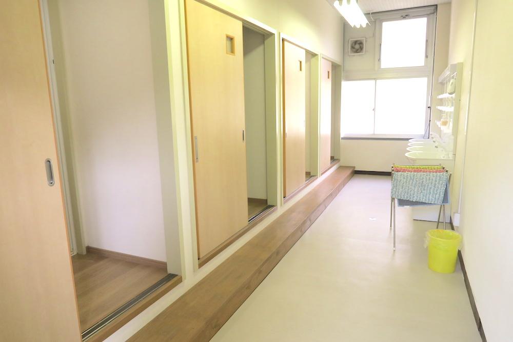 季節労働愛媛県でみかんアルバイト(マンダリン寮・お風呂の前)の写真