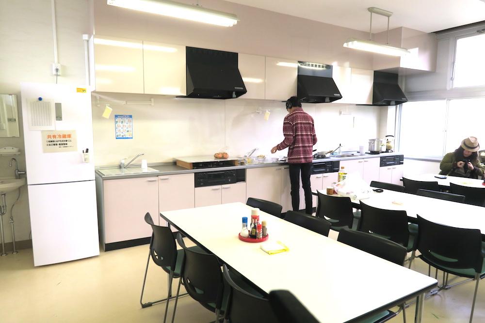 季節労働愛媛県でみかんアルバイト(マンダリン寮・食堂とキッチン)の写真