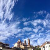 メキシコ・タスコのSanta Prisca教会(ホテルからの景色)の写真