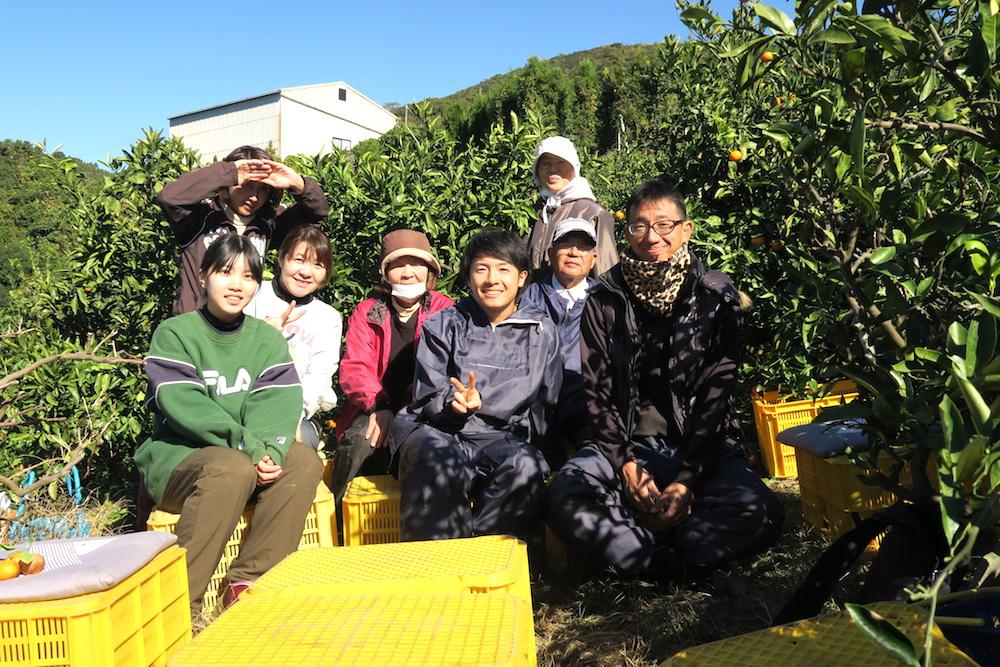 季節労働愛媛県でみかんアルバイト(お世話になった農家さんたち)の写真