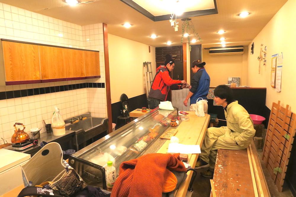 カフェ竜ちゃん本駒込店(改装中・全体)の写真
