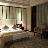 中国南方航空トランジットホテル・広州精益大酒店の寝室の写真