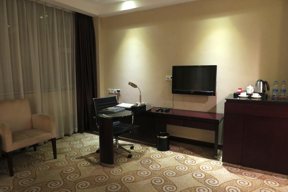 中国南方航空トランジットホテル・広州精益大酒店の客室の写真