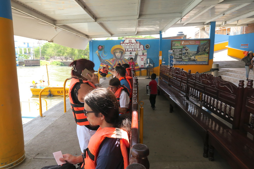 メキシコ・スミデロ渓谷ボートツアー(待合所)の写真