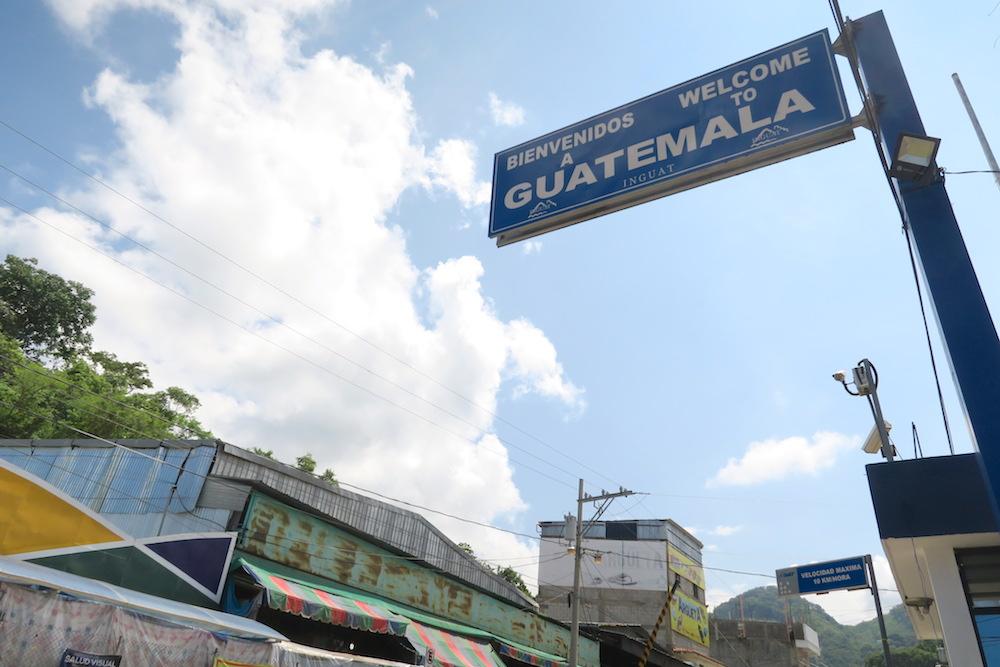グアテマラ国境(陸路)の写真