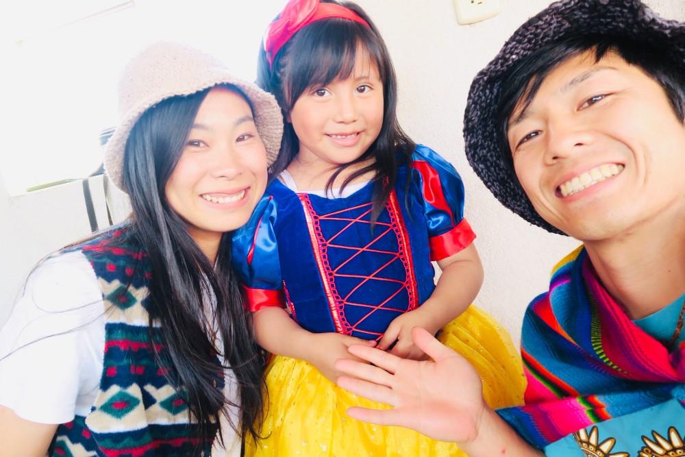 メキシコ・チアパス州サンクリストバル|先住民の子供の誕生日会の写真