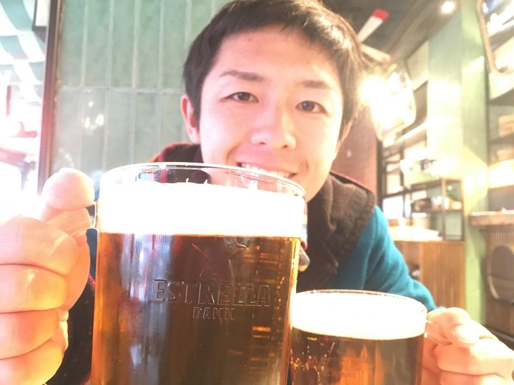 スペインのビールESTRELLAの写真