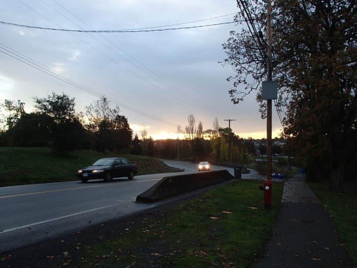 ビクトリアで見る最後の朝日の写真