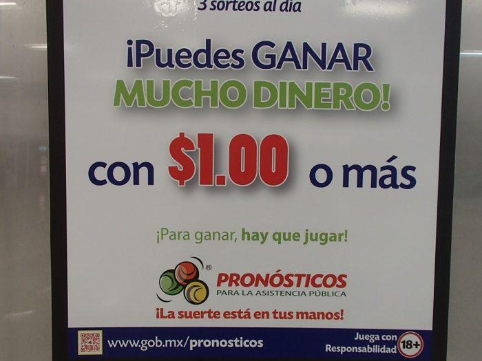 メキシコのスペイン語表記の写真