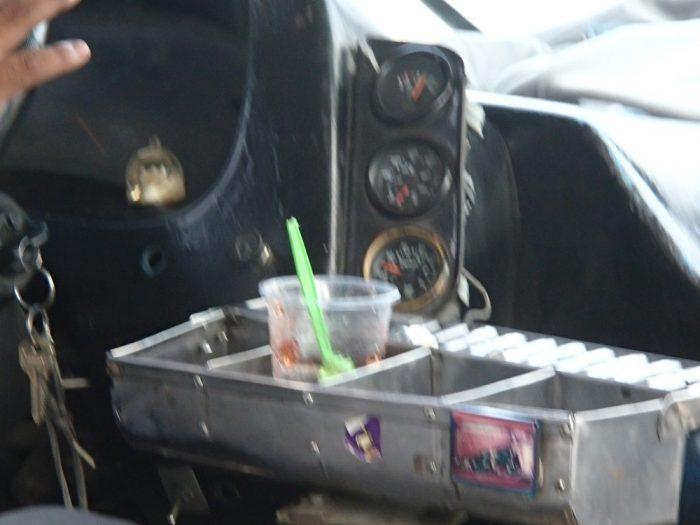 プエブラのローカルバス(ゼリー)の写真