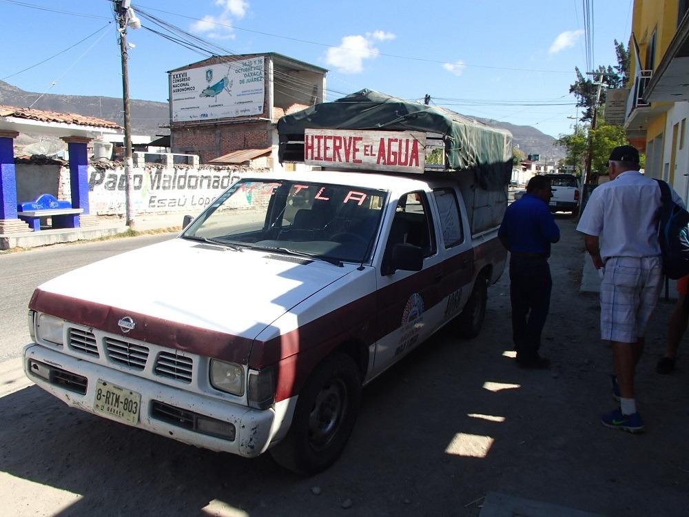 オアハカ|秘境イエルベ・エル・アグアへのバスでの行き方