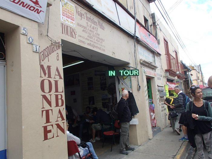 モンテ・アルバン遺跡バスツアー会社の写真