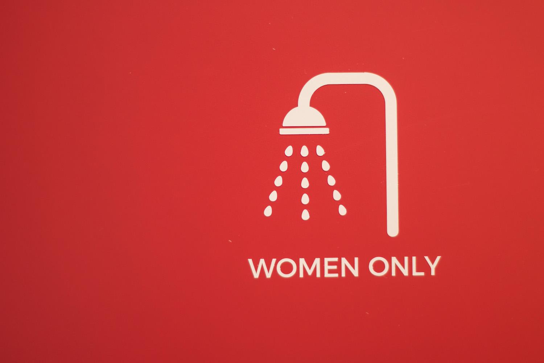 Hostel Anchorage(女性用シャワールーム)の写真
